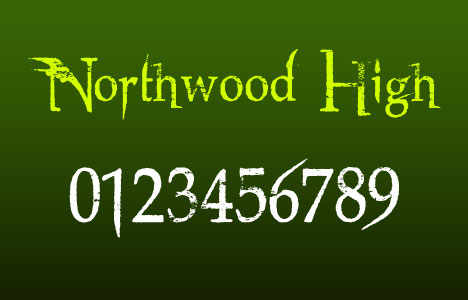 free-design-font-northwood-high