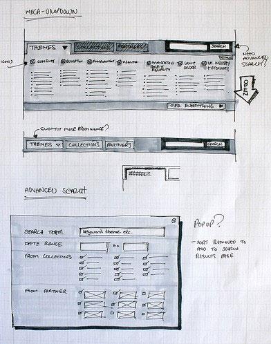 Sketch-in-web-design-Mega-dropdown-explorations