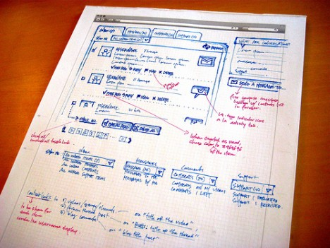 Sketch-in-web-design-vimeo-conversations-page-ideas