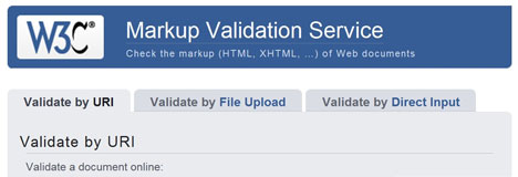 online validation tools Markup alidation Service