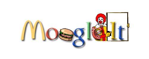 超强山寨版 Google logo 标志