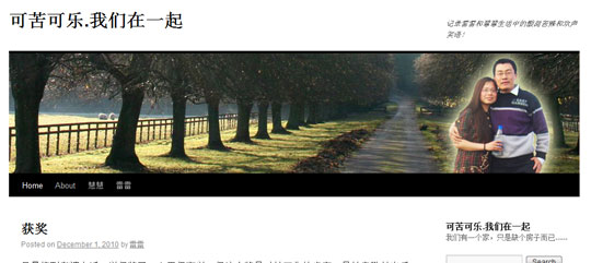 Twenty Ten 主题页眉图像在IE中错位修正方法