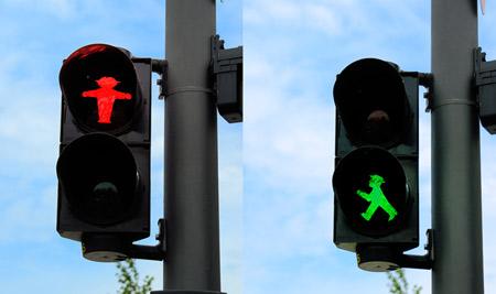 创意交通灯图标