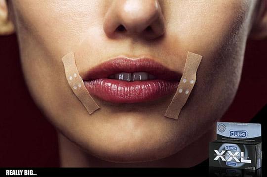 国外超有创意的性暗示广告