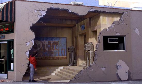 超酷立体感街头壁画艺术