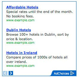 Google AdSense 广告标签 由 Ads by Google 修改为 AdChoices