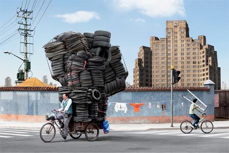 这货是自行车还是大货车?