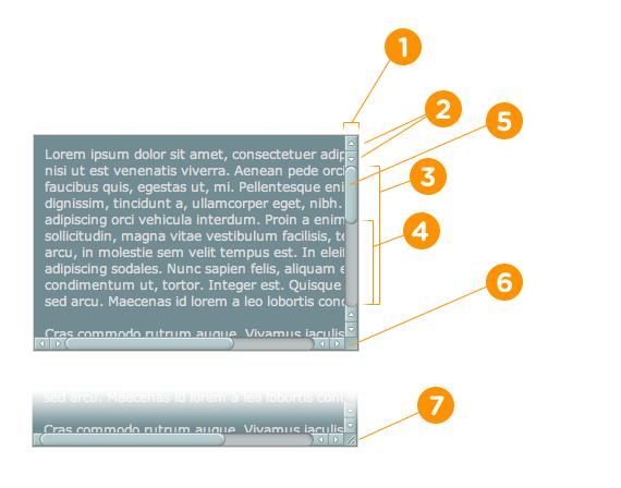如何设置 WebKit 浏览器滚动条属性