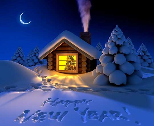 2013 Happy New Year 封面设计