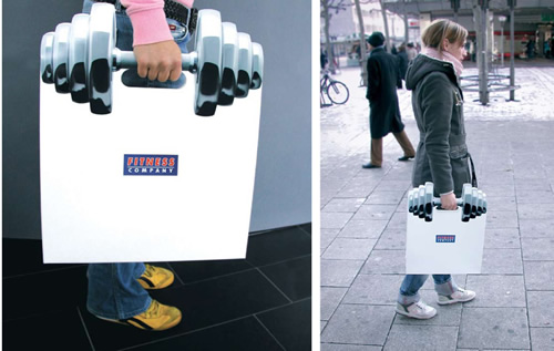 Fitness Company: Shopping Bag