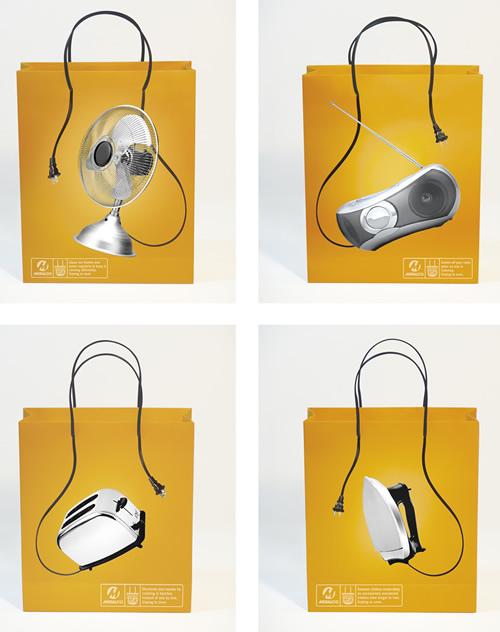 创意购物袋外包装设计