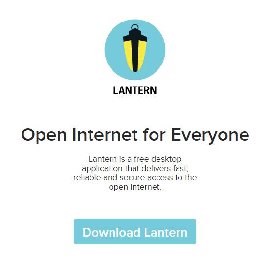 代理程序推荐 Lantern 可访问Gmail Facebook Twitter等